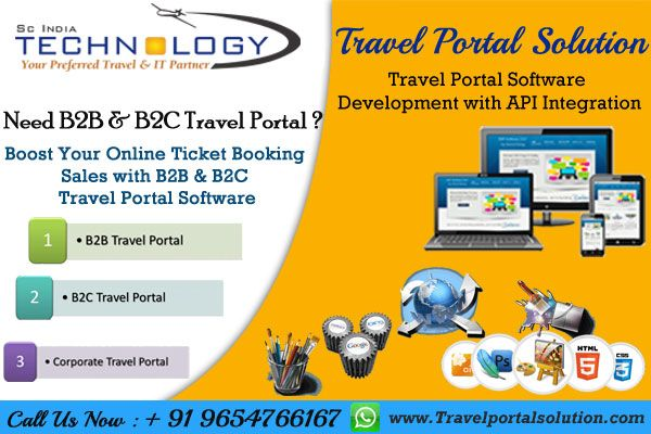 Travel Portal Software Development with API Integration. More Detail Visit Now - http://www.travelportalsolution.com
