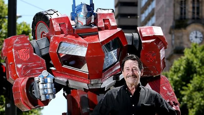 Transformers actor Peter Cullen, the voice of Optimus Prime ...