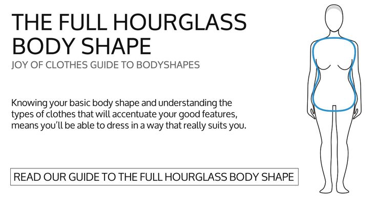 Style advice on what to wear and how to look your best for your full hour glass body shape and type.