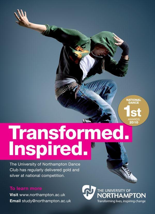 Transformed. Inspired. Dance Branding