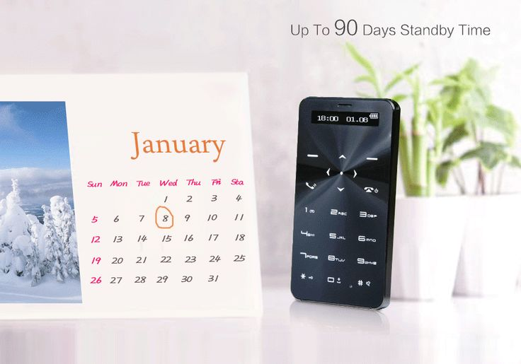 AMAZING: Up to 90-day Standby Time