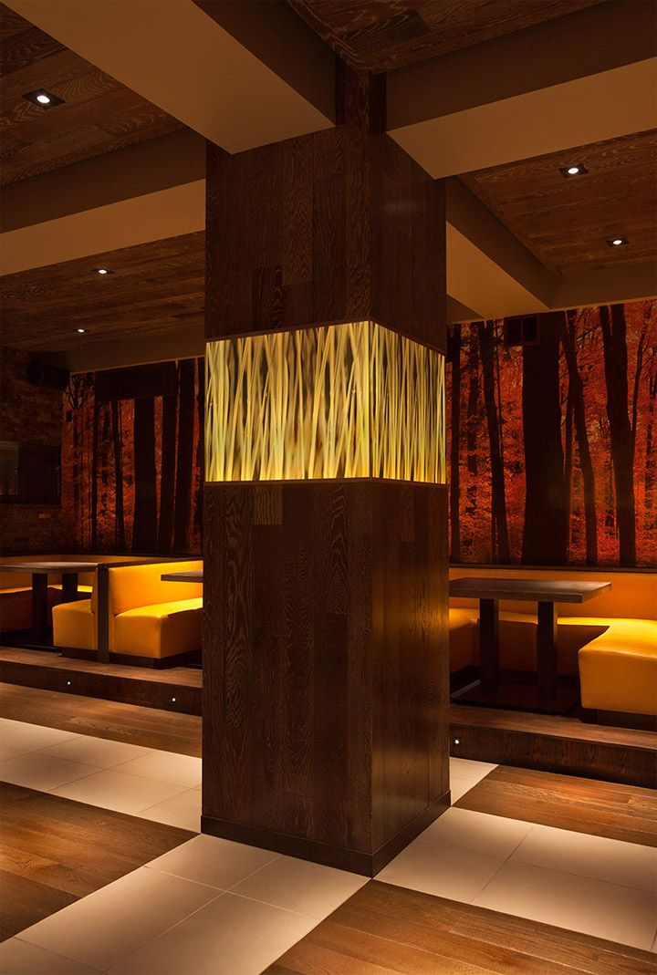 Mercer one thirteen restaurant by Rocco Laudizio (slick+design) & Roman Sanchez, Chicago hotels and restaurants