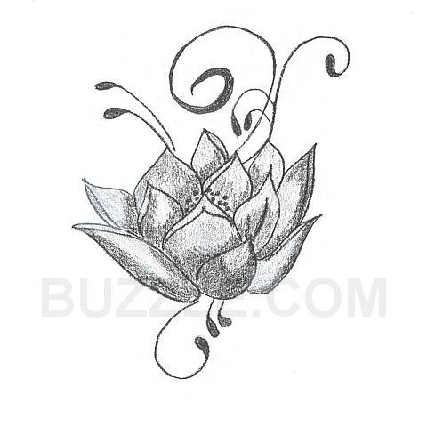 lotus flower tattoo - Google Search - shoulder cover idea