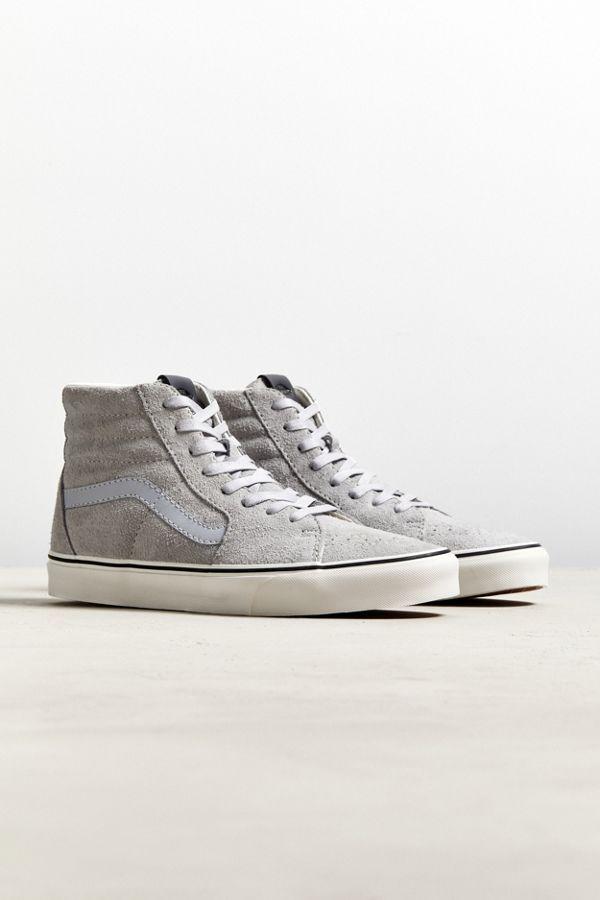 Vans Sk8-Hi Hairy Suede Sneaker   Suede