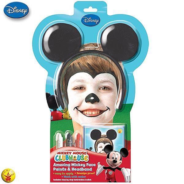 Caras pintadas de Mickey Mouse - Imagui | disfraces | Pinterest