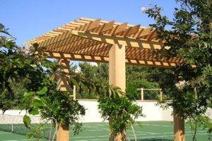 43 best images about pergolas on pinterest gardens - Pergolas para jardines ...