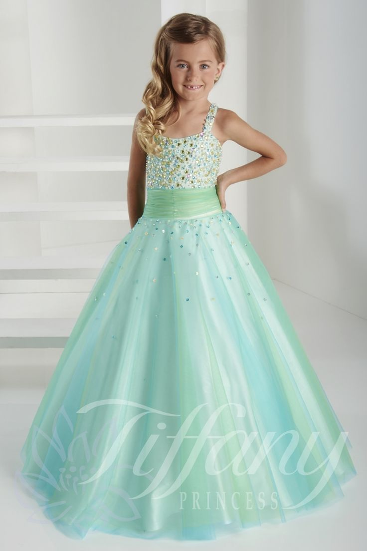 114 best Tiffany Princess Pageant Gowns for Little Girls images on ...