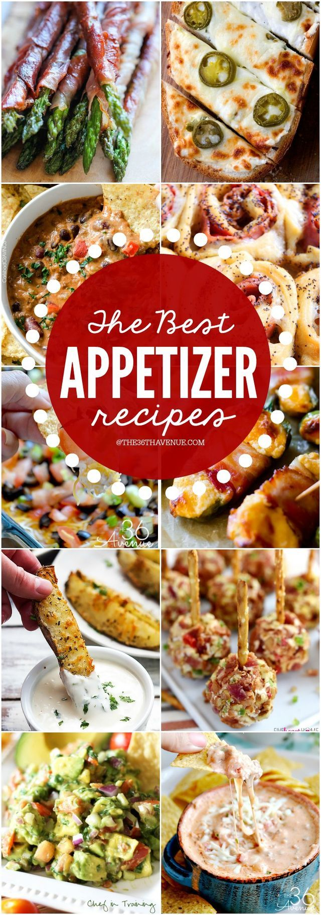 The Best Appetizer Recipes | The 36th AVENUE | Bloglovin'