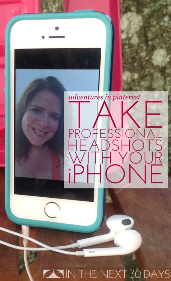 How to Take Professional Headshots with Your iPhone -Momo