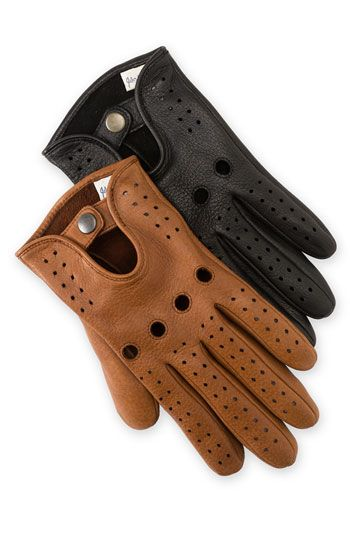 I have been obsessed with driving gloves forever, but never bought a pair. This year I will change that! John W. Nordstrom® Deerskin Driving Gloves available at #Nordstrom