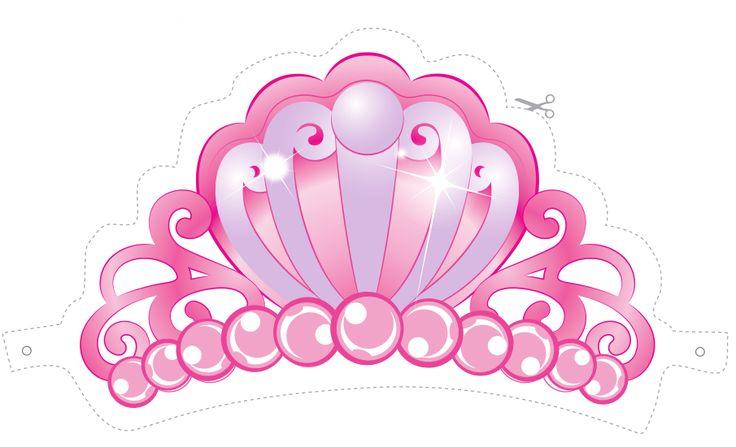 Coroa de Princesa da Barbie para imprimir grátis - Dicas pra Mamãe