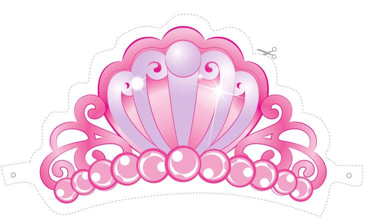 Corona para Barbie Princesa para Imprimir Gratis. | Ideas y ...