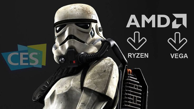 AMD Ryzen and Vega Demo-ed in Star Wars Battlefront at CES 2017
