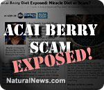 Mainstream media websites promoting Acai Berry Diet weight loss scam with