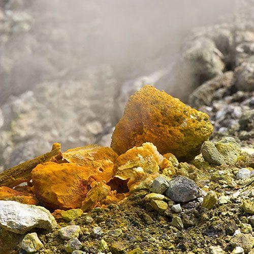 Solfatara Volcano in Pozzuoli