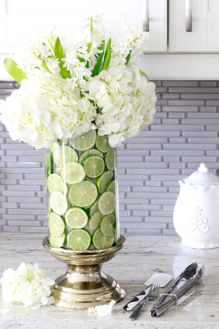 How To Create A Fruit And Floral Arrangement