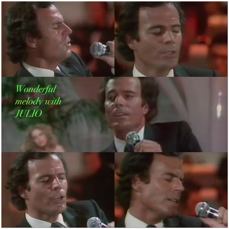 JULIO IGLESIAS AND MELODY MELODY
