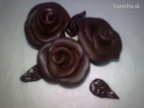 Plastická čokoláda (fotorecept)