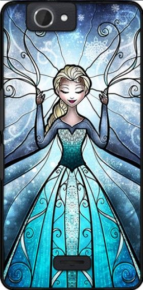coque La reine des neiges pour Wiko Getaway