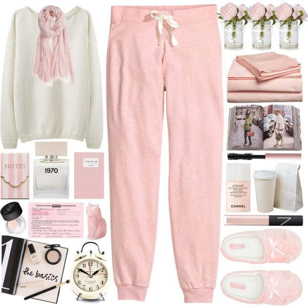 Time to Relax by heartart on Polyvore featuring moda, H&M, Lipsy, Calypso Private Label, Chanel, NARS Cosmetics, Too Faced Cosmetics, Bella Freud, Impressions and Newgate