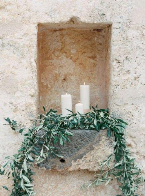 31 Organic Inspired Olive Branch Wedding Decor Ideas | Weddingomania