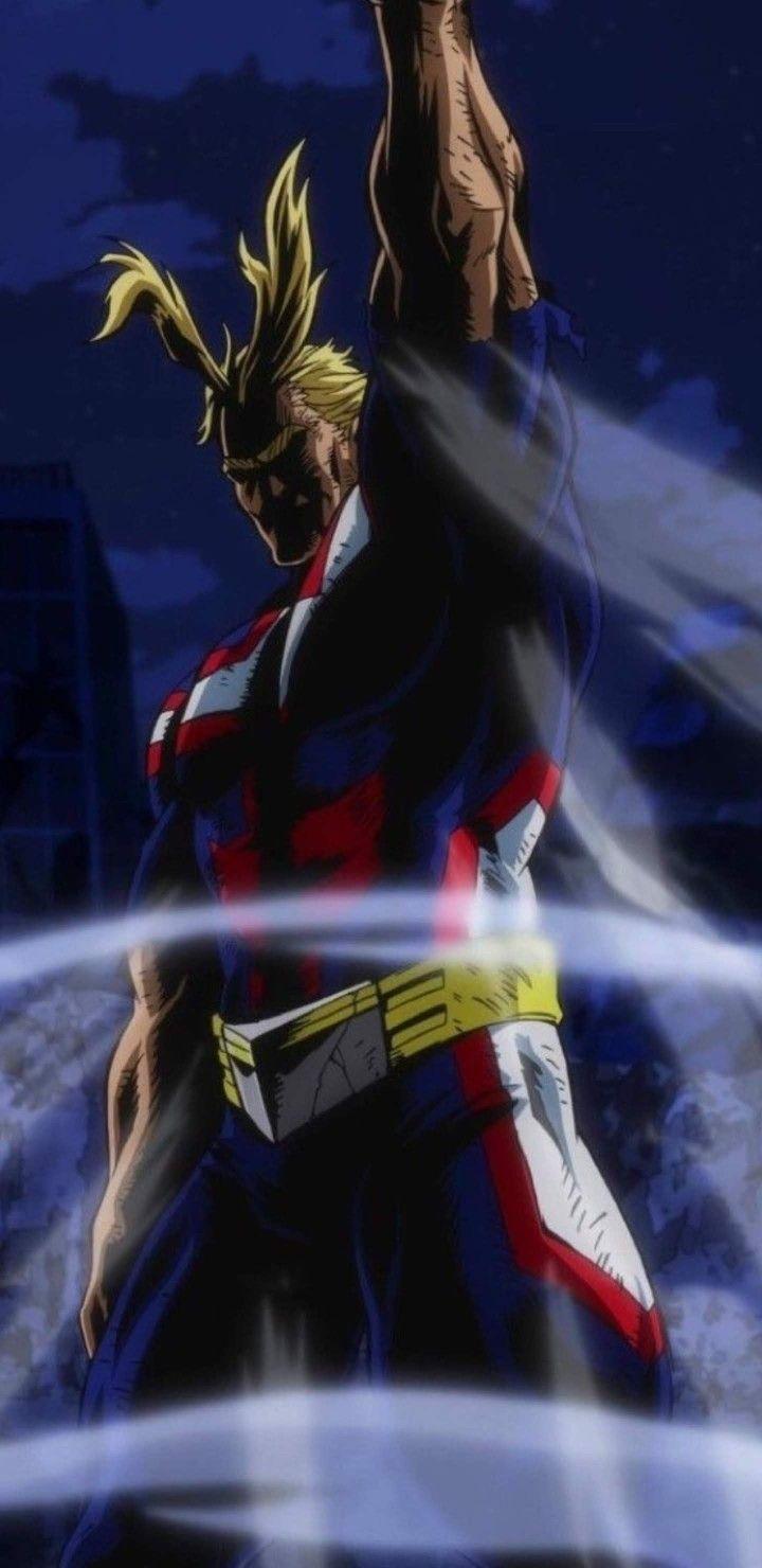 All Might Lockscreen My Hero Hero Wallpaper Hero Academia Characters