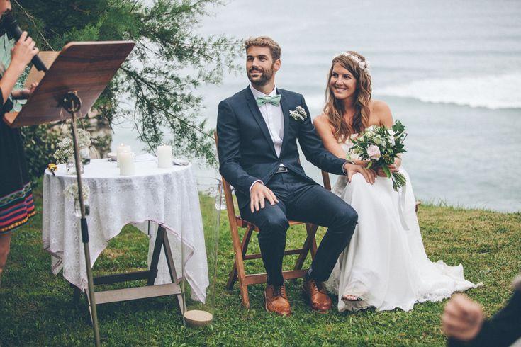 un mariage au bord de la falaise au pays basque mariage. Black Bedroom Furniture Sets. Home Design Ideas