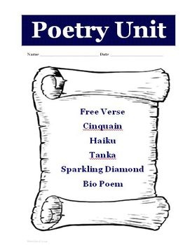 free verse poem template pdf