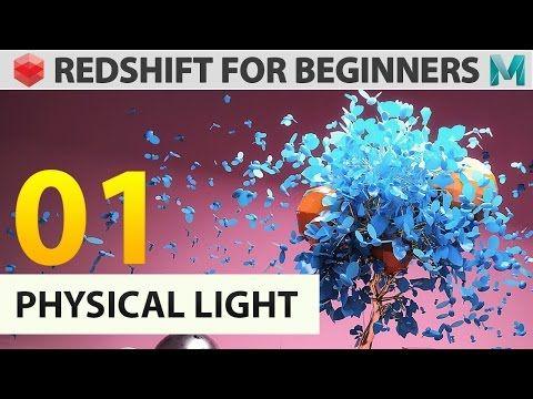 Redshift for beginners - 01 Physical Light - YouTube