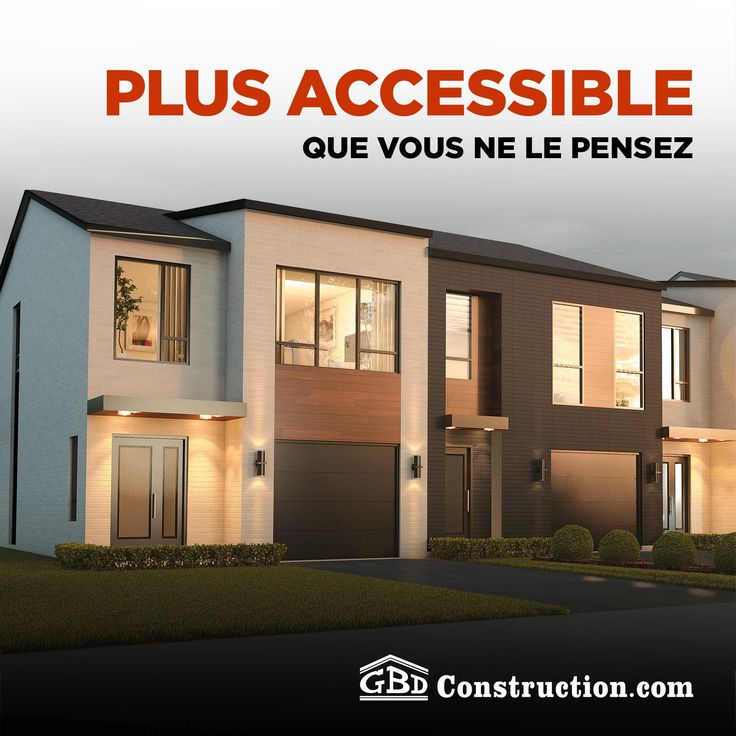 Vous avez trouvé la#maisonGBD de vos rêves, mais pouvez-vous vous l'offrir? 🤔Avec des unités à partir de seulement 159 900$, votre rêve est plus accessible que jamais! 🏚️️❤️ Contactez-nous 👉www.gestionbenoitdumoulin.com