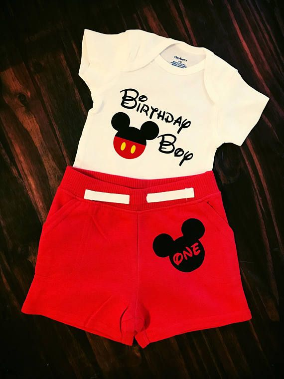 95d6f63ba Mickey Mouse First Birthday Outfit//Baby Onesie//Mickey Birthday//Birthday  Boy Outfit//Gerber Onesie//Baby Bodysuit in 2019 | Wild Peach Designs |  Mickey ...