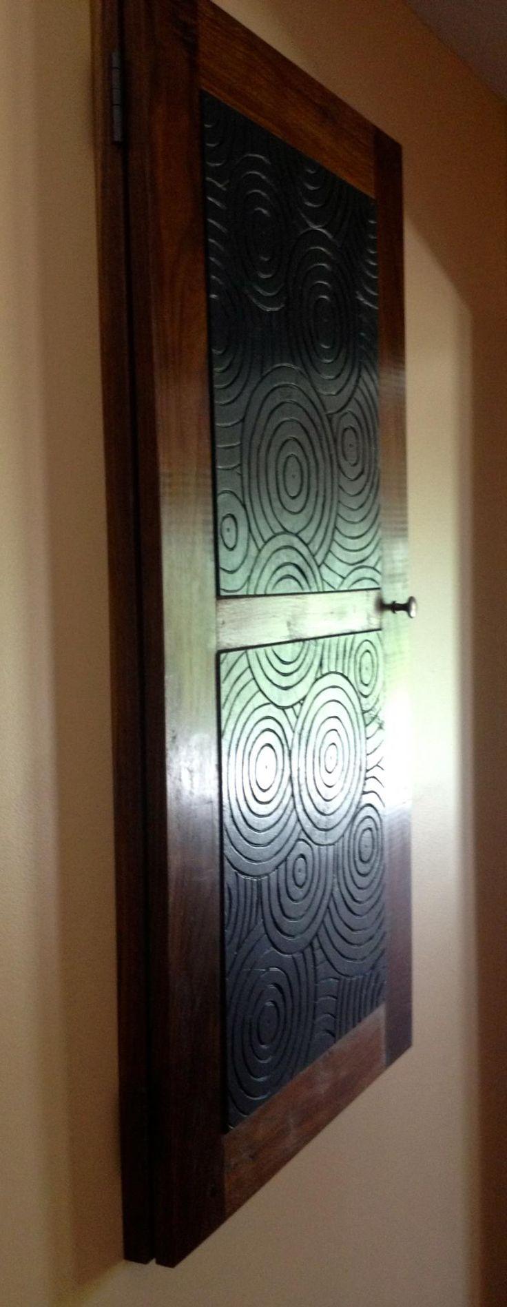 andrew gore woodworks custom work cover for breaker box  [ 736 x 1897 Pixel ]