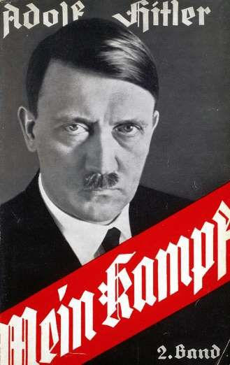 "July 18,  1925: HITLER'S MEIN KAMPF IS PUBLISHED  -   Mein Kampf, ""My Struggle"" is an autobiographical manifesto by Nazi leader Adolf Hitler, is published, in which he outlines his political ideology and future plans for Germany."