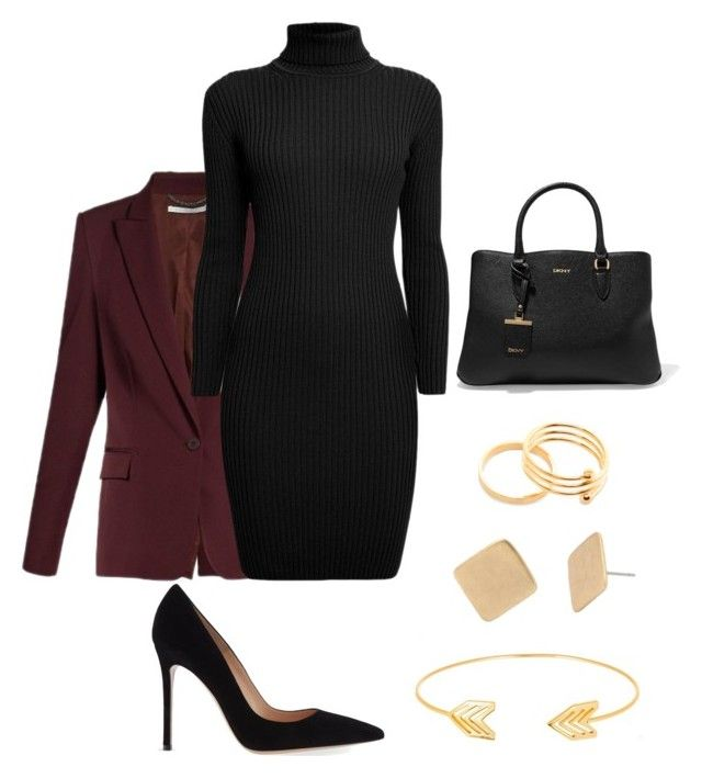 """""""Untitled #18"""" by alisha-marley on Polyvore featuring STELLA McCARTNEY, Rumour London, Gianvito Rossi, Robert Lee Morris, DKNY and Lord & Taylor"""