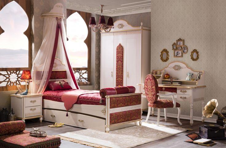 Sultan luxusní orientální dětský nábytek / Luxury oriental children's room