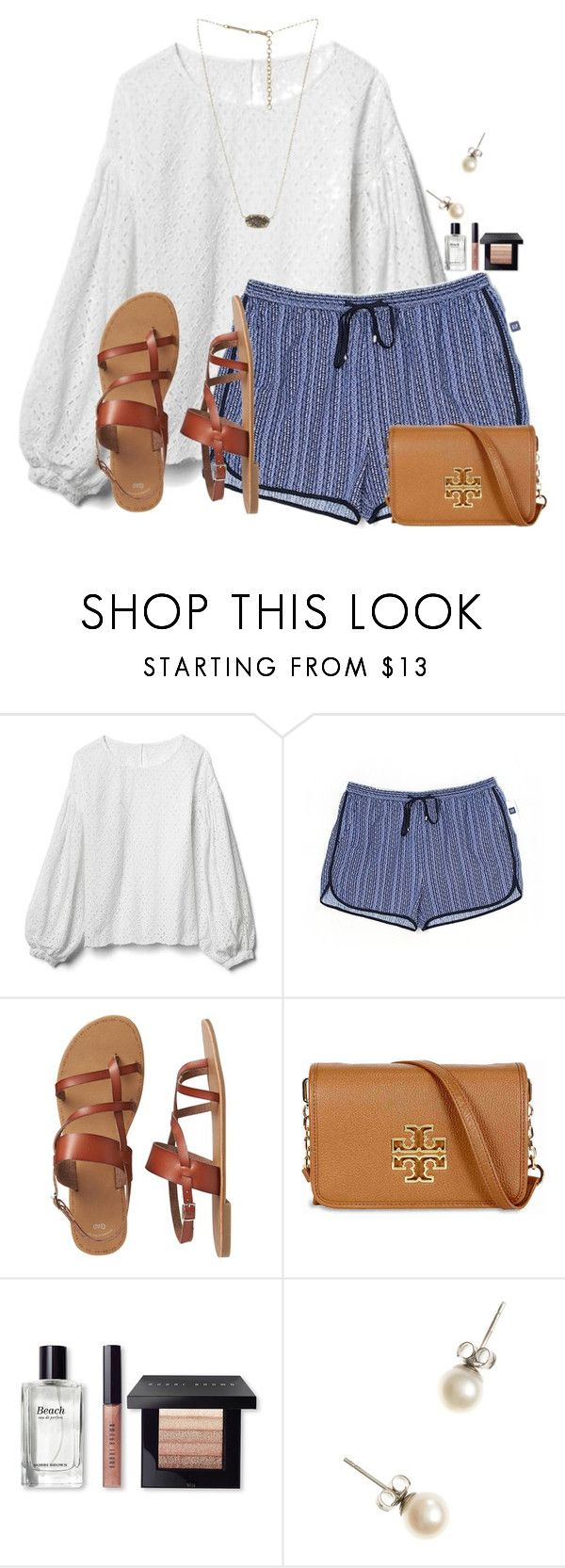 """""""ONLY 1 MORE FOLLOWER!! WHO WILL IT BE?"""" by flroasburn on Polyvore featuring Gap, Tory Burch, Bobbi Brown Cosmetics, J.Crew and Kendra Scott"""