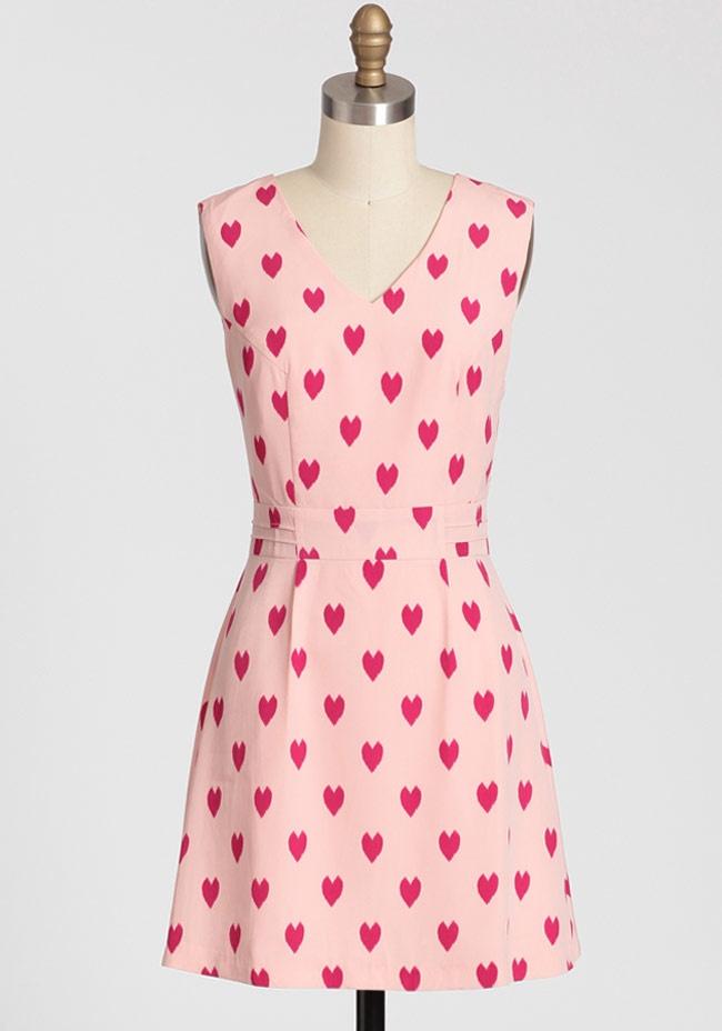Картинка платья с сердечком