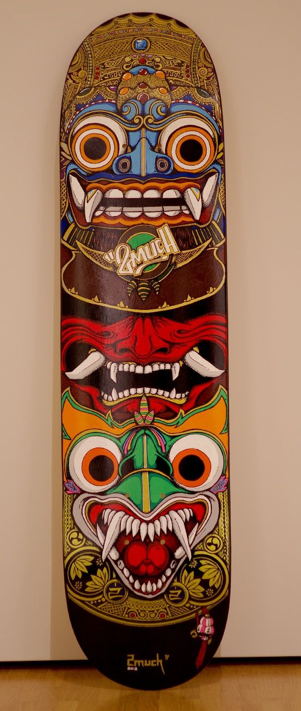 ☆ Custom SkateDeck :¦: Art By 2much ☆