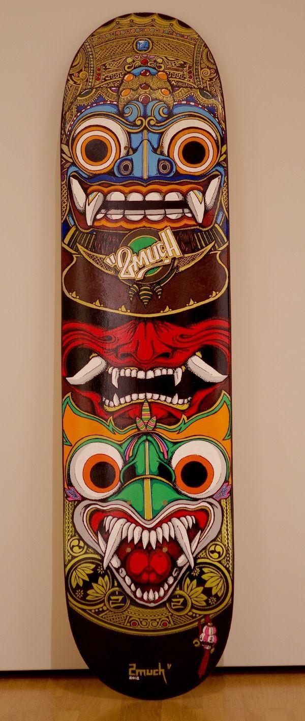 ☆ Custom SkateDeck :¦: Art By 2much ☆