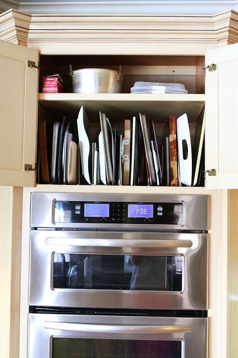Kitchen Cabinet Pots And Pans Organization Pan Storage