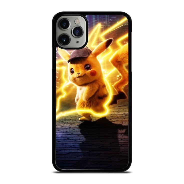 Detective pikachu pokemon iphone 11 pro max case cover