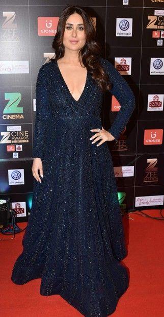 Yay or Nay? Kareena Kapoor wearing a shimmery black Falguni & Shane Peacock outfit