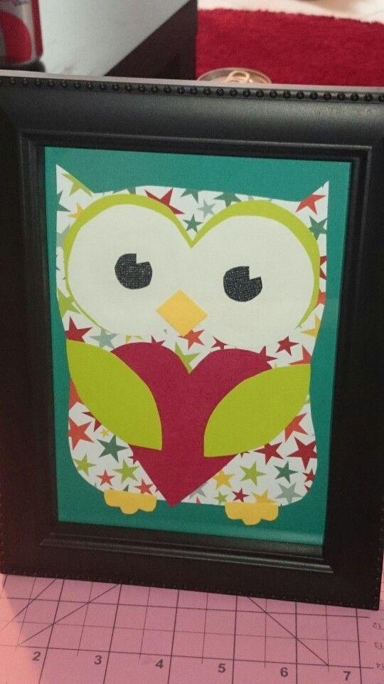 Owl nursery artwork