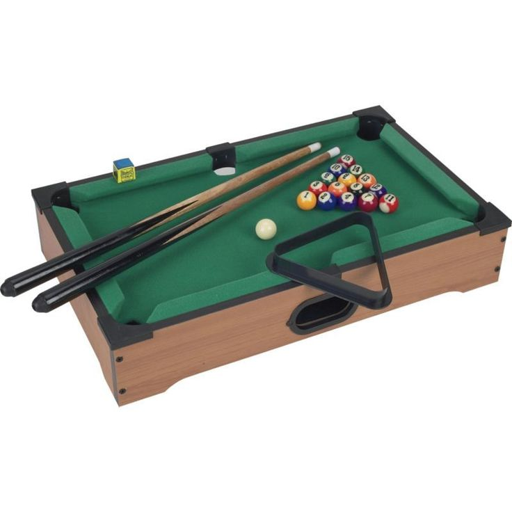 Trademark Games Mini Tabletop Pool (Blue) Table
