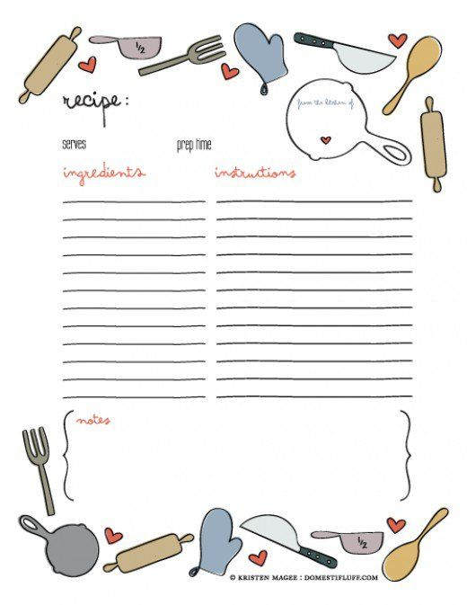 Best 25+ Cookbook template ideas on Pinterest | Cookbook ideas ...