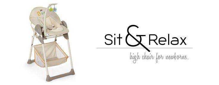 Sit & Relax - Hochstuhl und Babyaufsatz von hauck