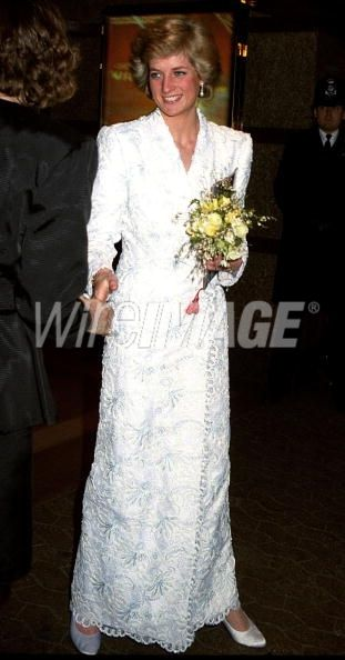 princess diana movie premiers   ... princess diana at royal charity film premiere for willow at empire