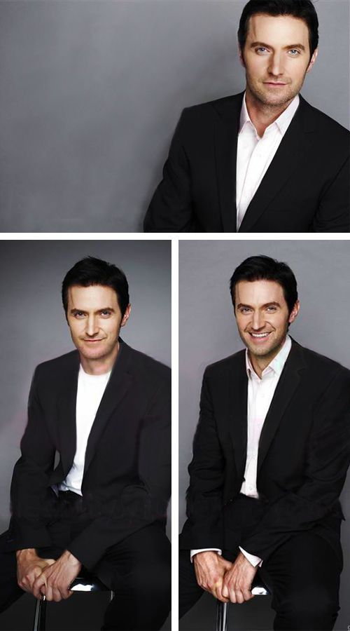 Richard Armitage: Smoulder ... smoouuuulderrrrr .... smile made of sunshine and rainbows