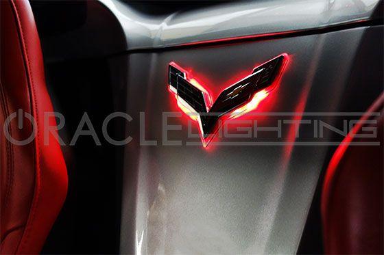 C7 Corvette Emblem - ORACLE LED Illuminated Badges & Crosshairs - ORACLE…