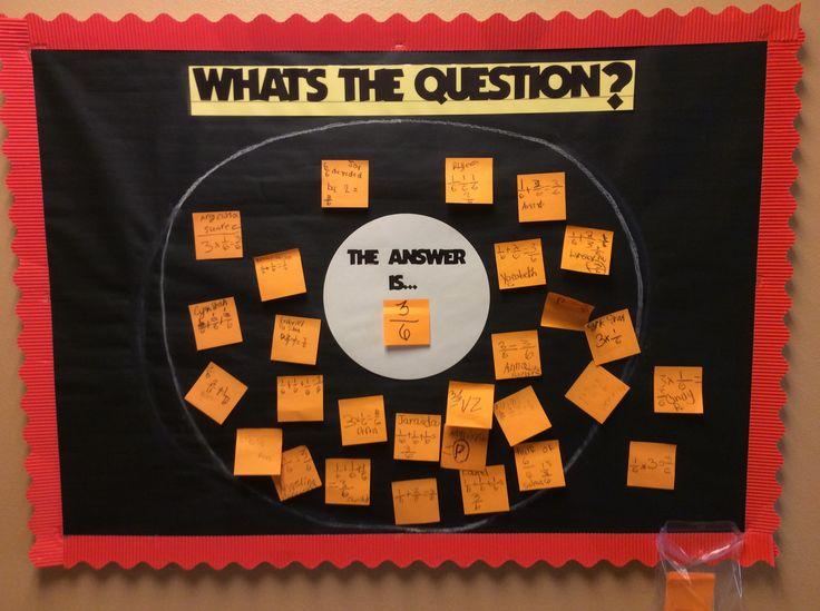 Great Bulleting Board Math Idea using Thinking Maps! Thank you Thacker Avenue Elementary in Osceola County.
